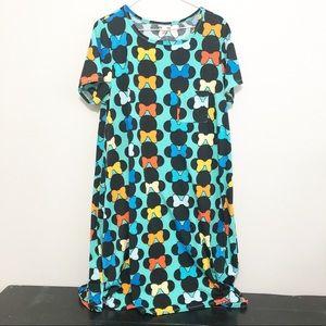 LuLaRoe Minnie Mouse T Shirt Dress